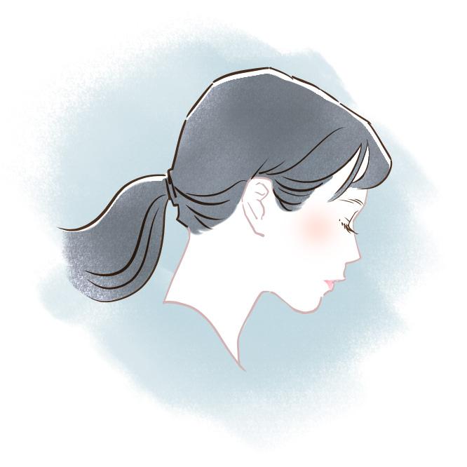 美容師店員さん似顔絵イラスト06
