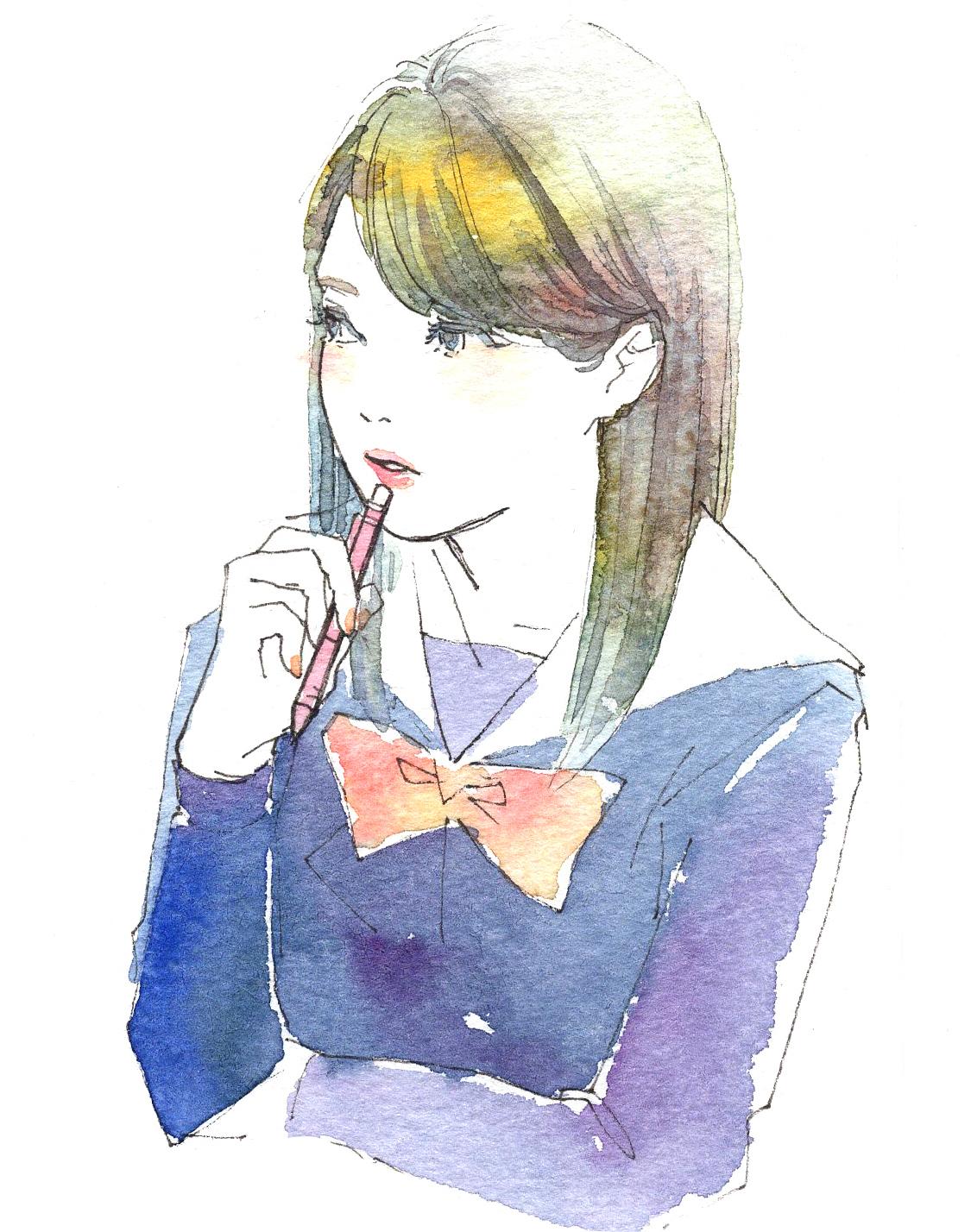 girls illustration01