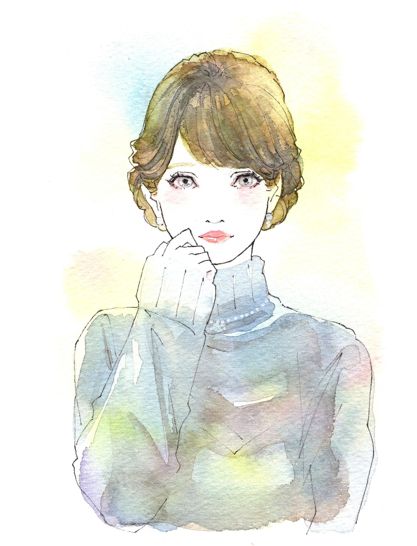 girls illustration03